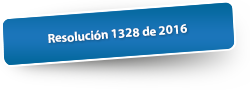 Resolución 1328 de 2016
